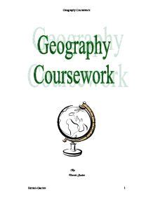 Master thesis in geography